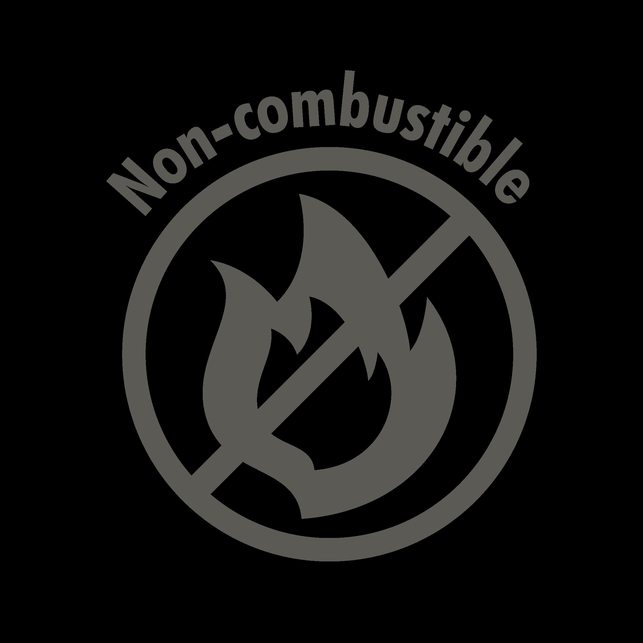 Non-combustible Icon